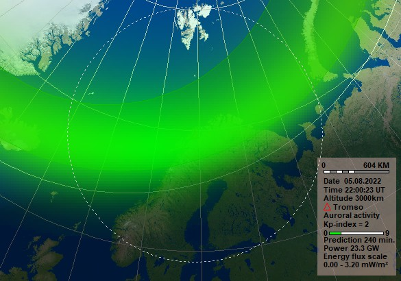 Forecast 4h Norwegian Centre For Space Weather